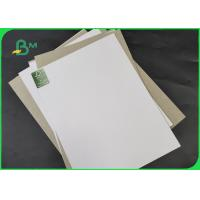 Buy cheap 250GSM 350GSM 450GSM One Side Coated Duplex Board One Side Gray For Printing from wholesalers