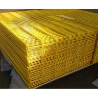 Buy cheap PVC Coated Wire Mesh Fence High Security 5.0mm For Prison / Airport Protect from Wholesalers