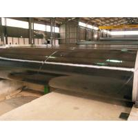 Buy cheap 3PE Three Layer Powder Coated Steel Pipe , DIN30670 Coated Gas Pipe Underground from Wholesalers