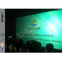 China Genuine Leather Convenient 6D Movie Theater With 3DOF Motion Chairs factory