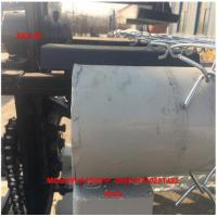 China China High Speed Double wire feeding Fully Automatic Chain Link Fence Making Machine factory