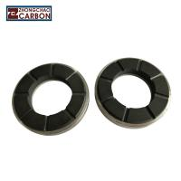 China Metallic Carrier Insert Carbon Thrust Bearing , Air Blower Thrust Collar Bearing factory