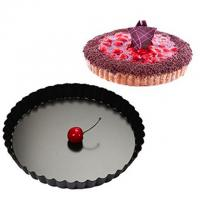 China Non-Stick cake mould Round Pie pan removable bottom cake pan for 152*127*16 on sale