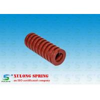 Red Plating Machinery Die Springs Rectangle Wire 18MM Outside Diameter