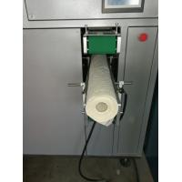 Buy cheap Non - Woven Fabric Toilet Roll Cutting Machine With Arc Shaped Clamping Unit from Wholesalers