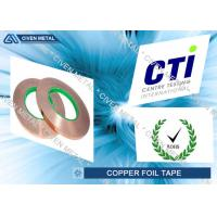 Buy cheap Double sides conductive copper foil tape Maximum Width 650mm from Wholesalers