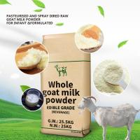 China Delicious And Creamy Dry Goat Milk Powder  Sterilized In Bulk Sales Repairs Body Cells factory