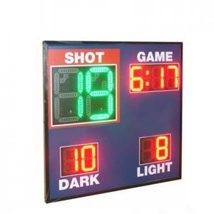 China Economy Model Led Basketball Scoreboard , Live Basketball Scoreboard With Shot Clock factory