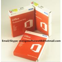 China 32 / 64 Bit Office 2016 Pro Plus Retail For Global Area Full Functions factory