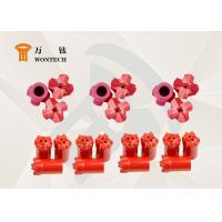 China Customized Foundation Drilling Tools Tapered Button Bits High Efficient factory