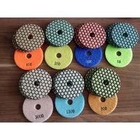 Buy cheap Two Kinds 4 Inch 7 Steps Dry Diamond Polishing Pads Honey Cone For Granite from Wholesalers