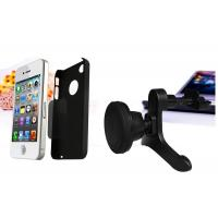 ABS Universal Smartphone Magnetic Car Air Vent Mount Holder For iPhone / Blackberry / GPS