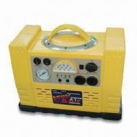 China Portable Power Station with Air Compressor and Built-in 12V, 17Ah Lead Acid Battery factory