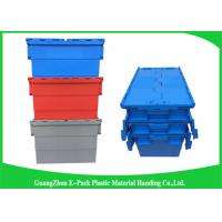 Buy cheap Turnover Logistics Opaque Plastic Attached Lid Containers For Foods , Textile from Wholesalers