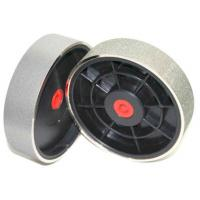 """China 6"""" Electroplated Diamond Grinding Wheel with Plastic Axis For lapidary polishing factory"""