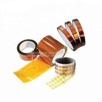 Buy cheap Antistatic Kapton Polyimide Tape Silicone Thermal Insulation For PCB Printing Protection from wholesalers