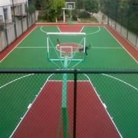 China Volleyball Courts EPDM Rubber Flooring , Environment Friendly Soft Rubber Flooring factory