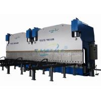 China Large CNC Tandem Hydraulic Press Brake Bending Machine For Producing Electrical Poles on sale