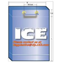 China Ice bags, wine carriers, juice, beverage bags, wine gift, portable, party bags, icebags factory