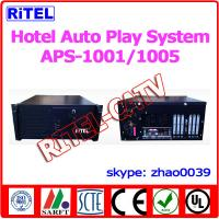 5 VIDEO output Hotel Auto Play System APS-1005