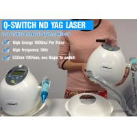 China 1064nm ND YAG Laser Machine Q Switched , Tattoo Laser Removal Equipment on sale