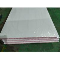 China waterproof 50mm styrofoam wall decoration partition sandwich panel with 0.426mm factory