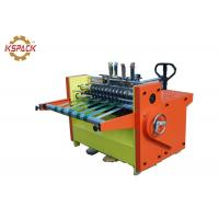 China Corrugated Partition Slotter Machine , Partition Slotting Machine factory