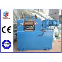 Buy cheap Lab Plastic Rubber Mixing Machine Two Roll Mill XK-160 High Power Utilization from Wholesalers