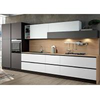 Buy cheap Five Paints White Piano Paint Door Board Cabinet Fashionable Beautiful Kitchen Easy to Clean for Apartment Project from Wholesalers