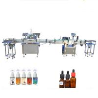 China Plastic / Wood Packaging Perfume Filling Machine For Dropper Glass Bottles factory