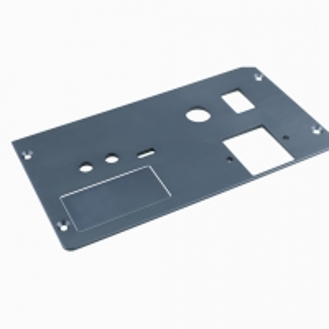 China 6061-T6 CNC Machining Anodized Aluminum Panel For Videro Camera factory