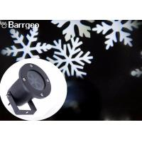 Buy cheap Outdoor Garden Holiday Decoration Lighting Led Christmas Snowflake Projector Light from Wholesalers