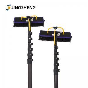 China 10m 3k High Modulus carbon fiber mast pole telescopic window cleaning poles factory