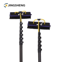 Buy cheap 10m 3k High Modulus carbon fiber mast pole telescopic window cleaning poles from wholesalers