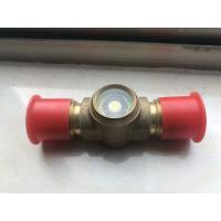 China Hermetic Sight Glass for Air Conditioning &Refrigeration, flare sight glass, brass sight glass factory