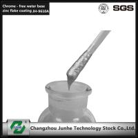 Quality Baking Type Zinc Flake Coating Self Dry Silver Top Coat 2 Adhesion Increase for sale