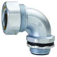 China Plum Type Flexible Conduit Fittings 90 Degree Angle Liquid Tight Connector factory