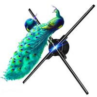 China Naked Eyes 3D Holographic Display Four Blades For Indoor Wifi App Control factory