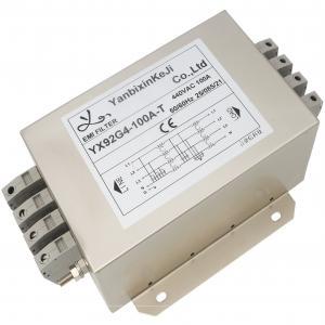 China 3 Phase EMC EMI 440V AC Line Noise Filter For Inverter Converter factory