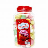 China Mini Cake In Jar Nice Taste Marshmallow Sweets , Soft candy marshmallow on sale