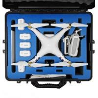 Quality DJI Phantom 3 Carrying Case. Military Spec Waterproof and Airtight Hard Case Fits Quadcopter and GoPro Accessories Custo wholesale