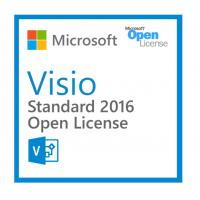 Buy cheap Easy Management Microsoft Visio Standard 2016 Open License For Pc Only from Wholesalers