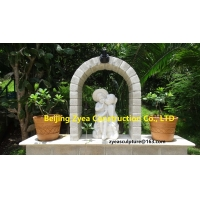 China Italian Garden white marble statues, nature stone park sculptures ,China stone carving Sculpture supplier factory