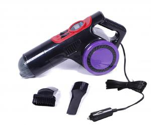China 72W ABS Digital Gauge Dc12v Mini Portable Vacuum Cleaner factory