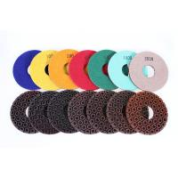 Buy cheap Resin Copper Bond Diamond Polishing Pads , 4 / 5 Angle Grinder Polishing Pad from Wholesalers