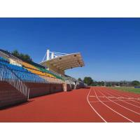 China Comfortable EPDM Jogging Track / Rubber Running Track Flooring Material factory