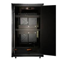 China Digital 55 Inch Magic Photo Booth , Mirror Photobooth With Flight Case factory
