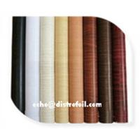 China Wood grain Hot stamp film for Wood factory