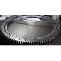 China Double Row Dia 10000mm Cross Roller Slewing Bearing factory