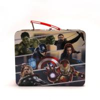 China Marvel Avengers Metal Tin Lunch Box factory